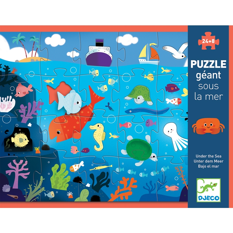 Óriás puzzle - A tenger alatt - Under the sea  - 0