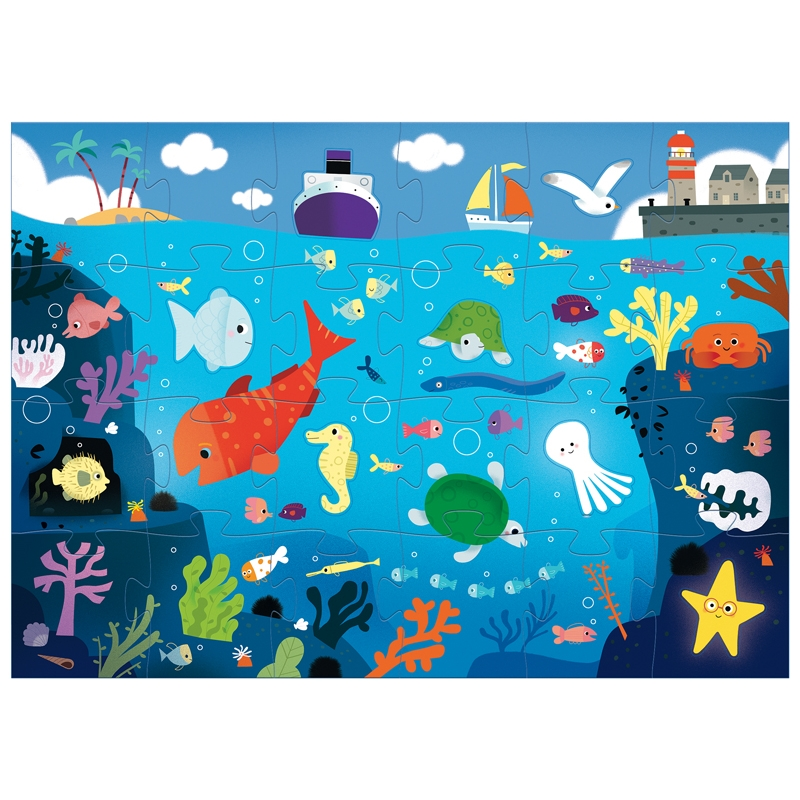Óriás puzzle - A tenger alatt - Under the sea  - 1