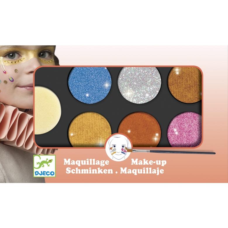 Arcfesték - 6 színű, metál fényű - Palette 6 colours - Metallic - 0