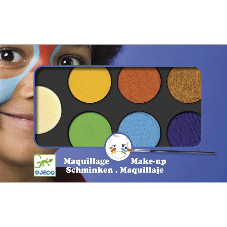 Arcfesték - Természet - Palette 6 colours - Nature - 0