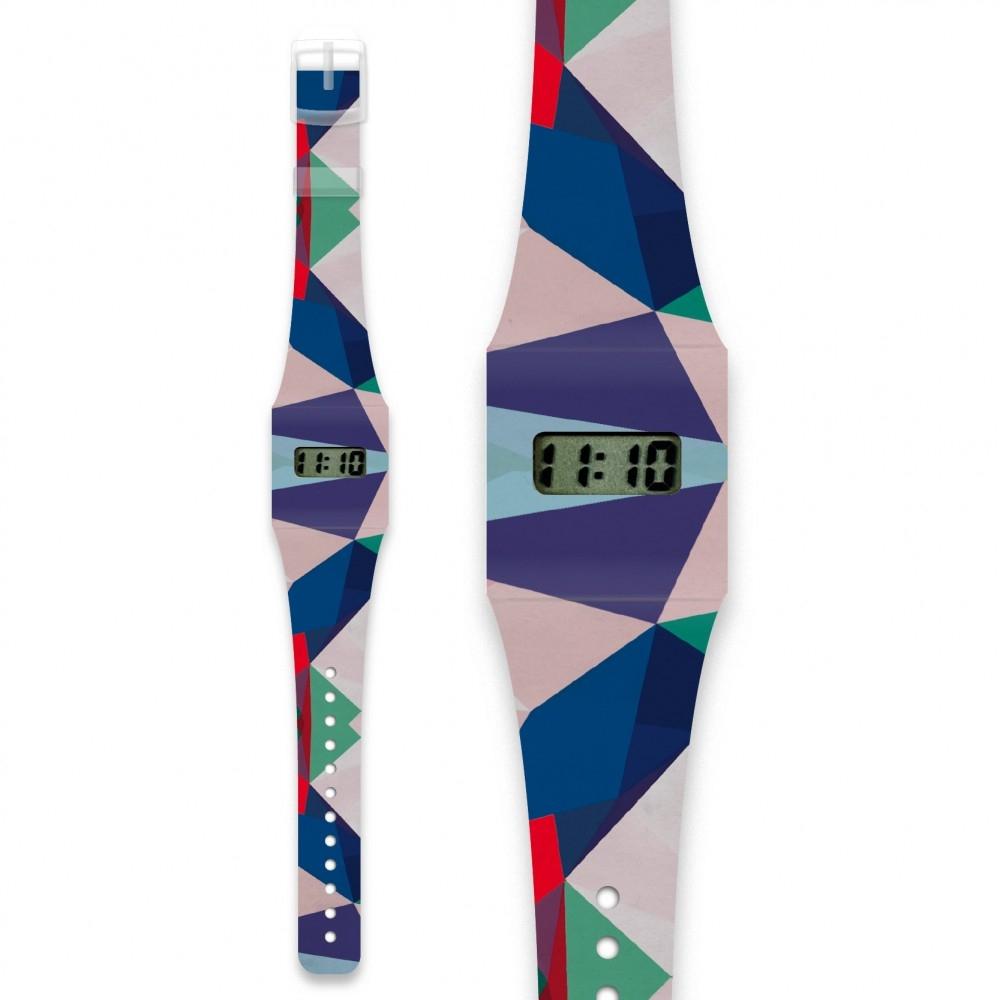 Papír karóra - GEOMETRICAL4 -  Pappwatch - 0