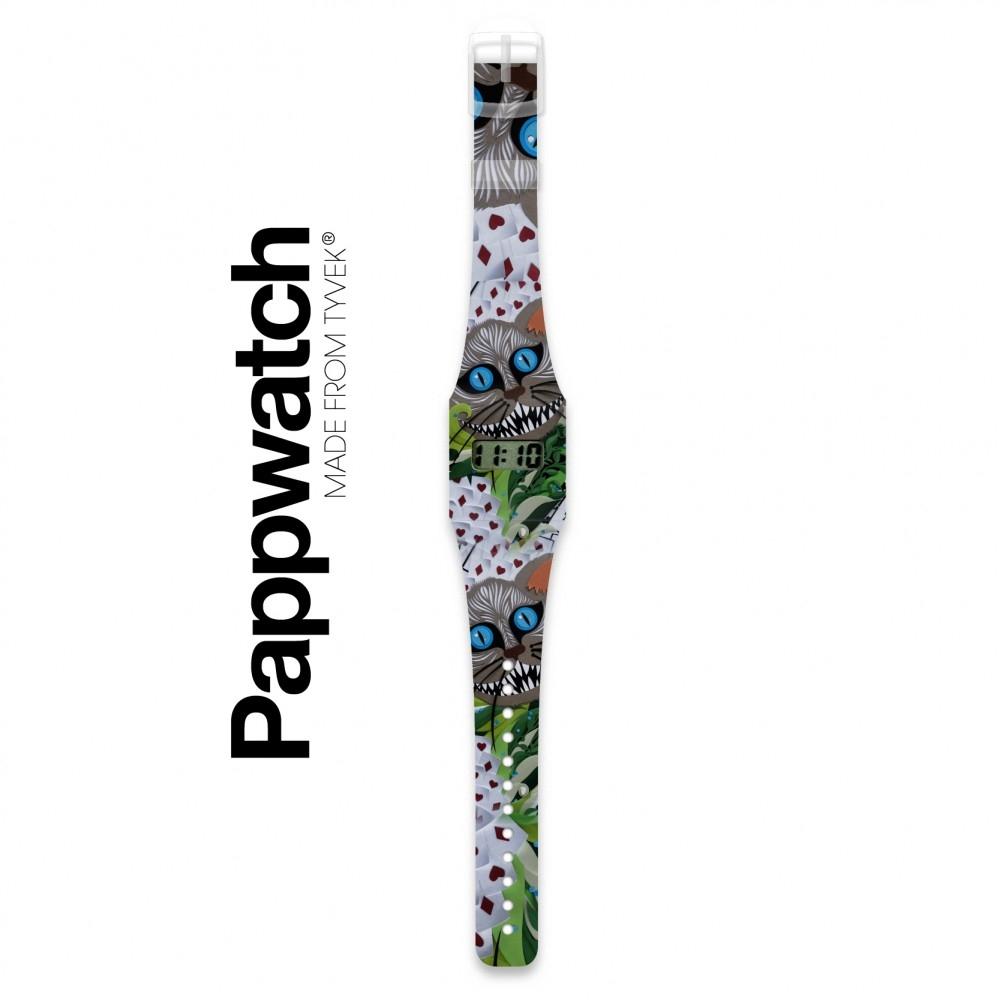 Papír karóra - GRINSEKATZE -  Pappwatch - 1