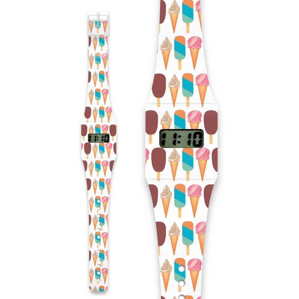 Papír karóra - ICE ICE BABY -  Pappwatch - 0