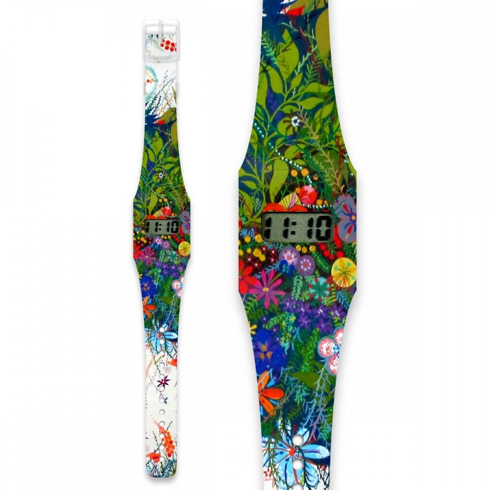 Papír karóra - WILD FLOWERS - Pappwatch Kids - 0