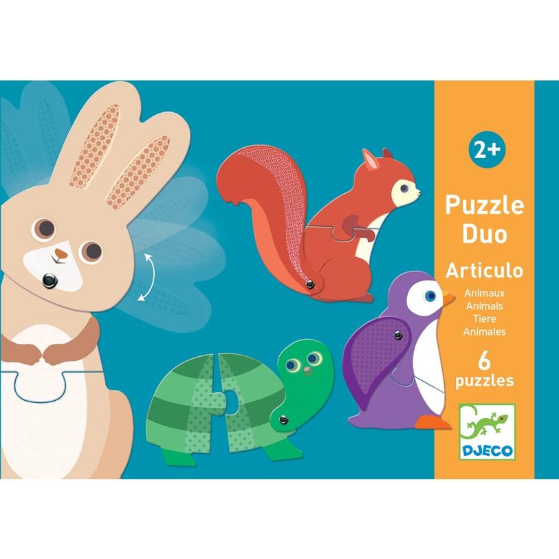Párositó puzzle - Állatok - Articulo Animals - 0