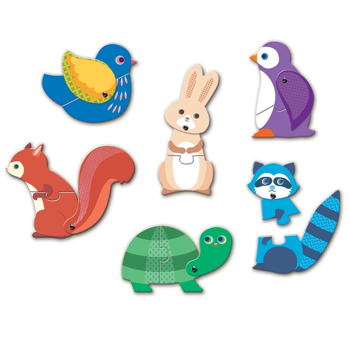 Párositó puzzle - Állatok - Articulo Animals - 1