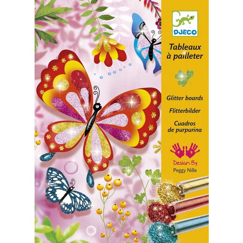Csillámkép készítő - Pillangók - Butterflies - 0