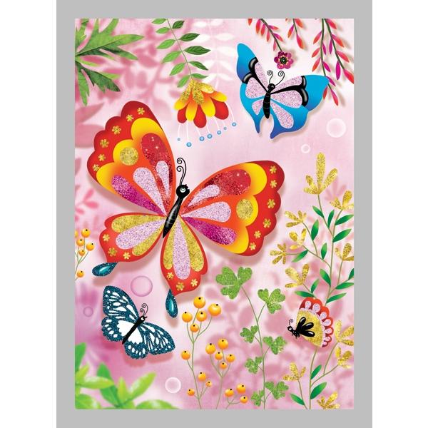 Csillámkép készítő - Pillangók - Butterflies - 1