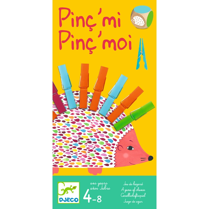 Társas kirakó játék - Sün-sün - Pinc'mi Pinc'moi - 0