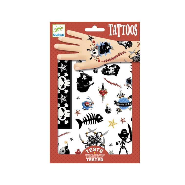 Tetováló matricák - Kalózok - Pirates - 0