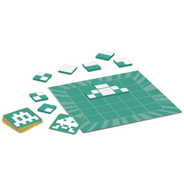 Logikai képkirakó játék - Pixi - Pixel Tamgram - 1