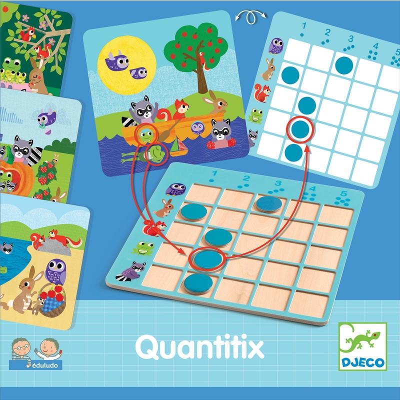 Fejlesztő játék - Minden-képen - Quantitix - 0