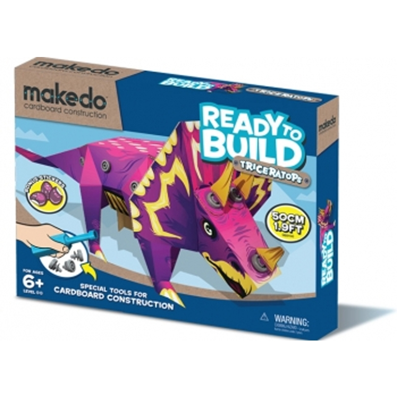 Ready to Build - Dinosauruszok - Triceratops - 0