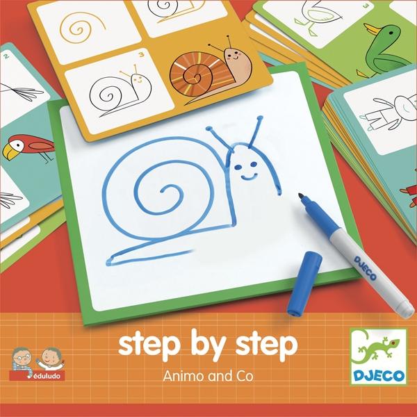 Rajzolás lépésről lépésre - Állatok - Step by step Animals and Co - 0