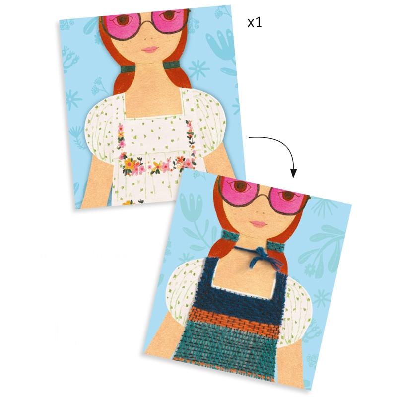 Varrás és hímzés - Rózsaszín szemüvegen át - Rose-coloured glasses - 1