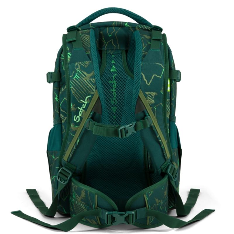 Satch Pack - hátizsák - Green Compass - 3