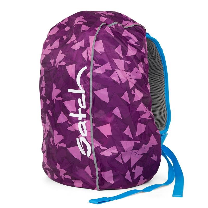 Satch táska esővédő - lila - 0