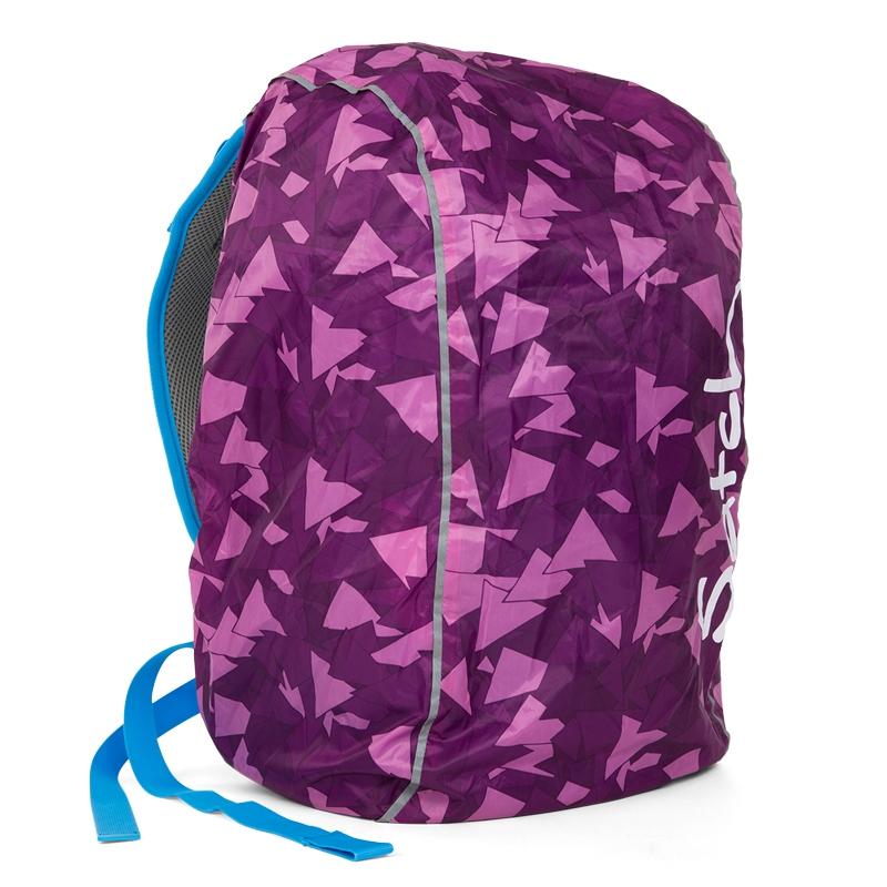 Satch táska esővédő - lila - 1