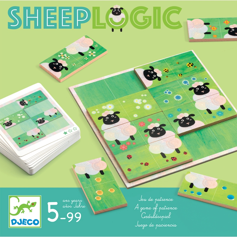 Képkirakó játék - Birka-logika - Sheep logics - 0