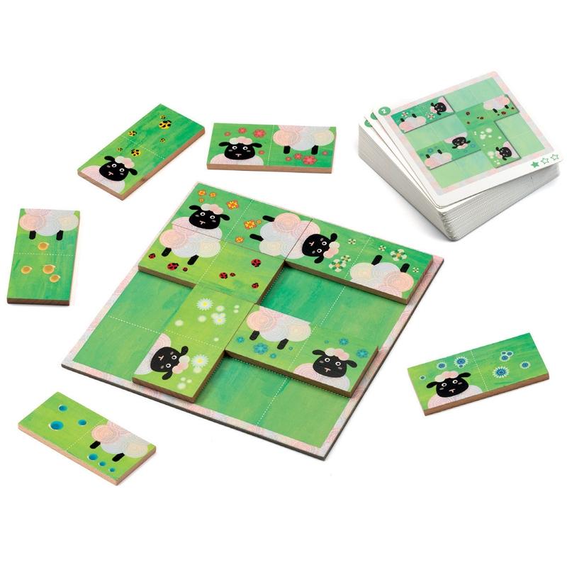 Képkirakó játék - Birka-logika - Sheep logics - 1