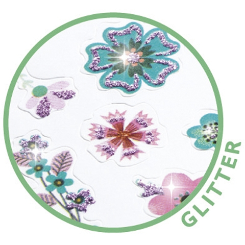 Mini matrica - Kis virágok - Small flowers - 1