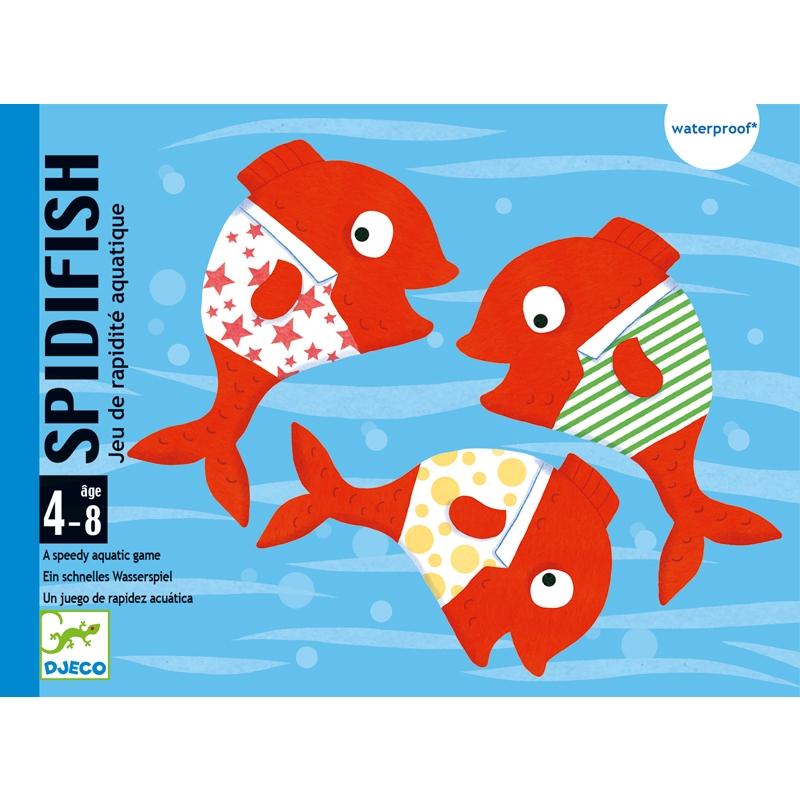 Fürdőkád játék - Vízikártya - Spidifish - 0