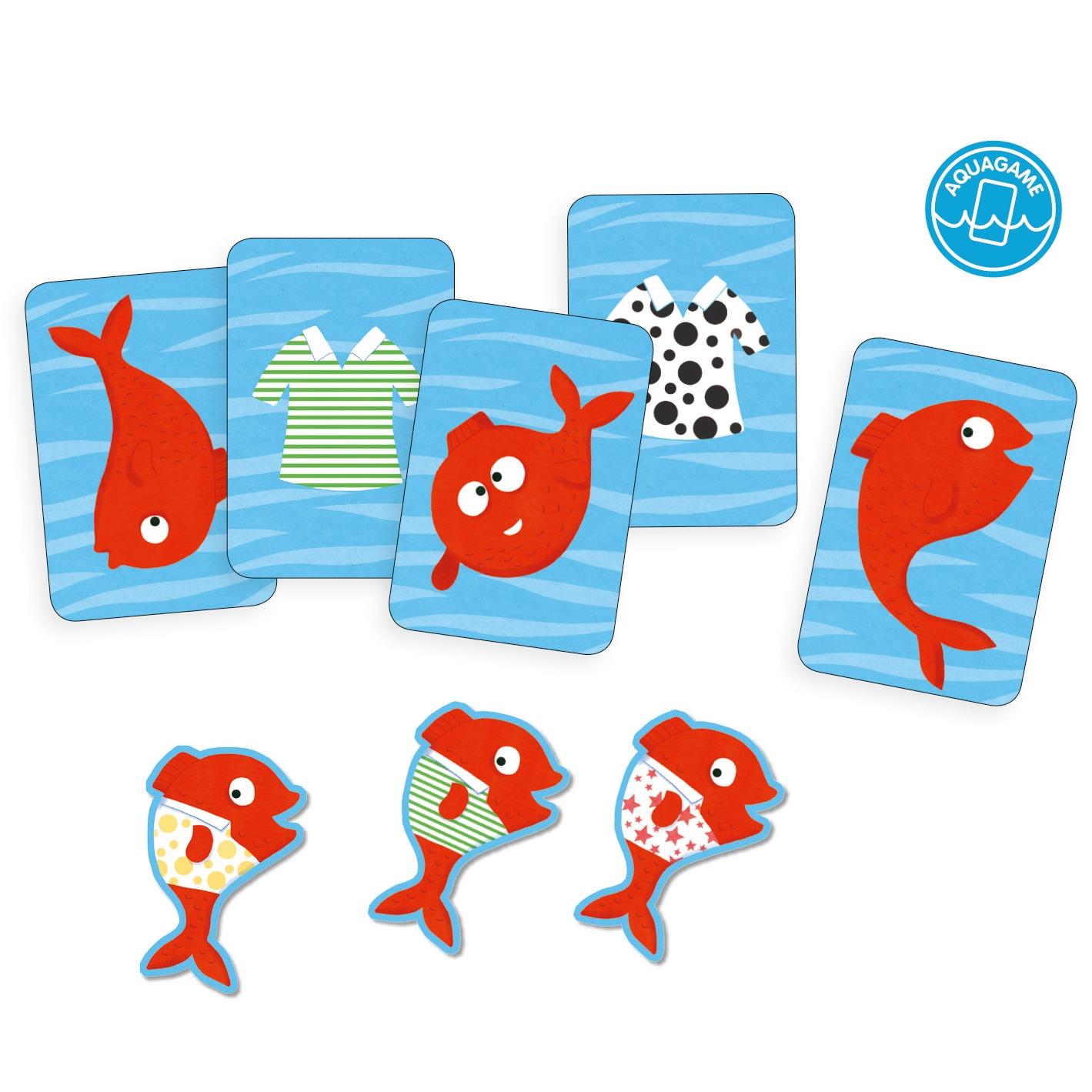 Fürdőkád játék - Vízikártya - Spidifish - 1