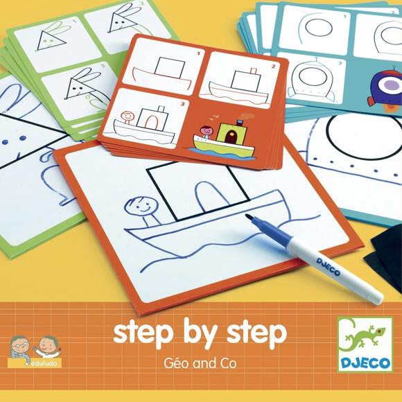 Rajzolás lépésről lépésre - Alapformák - Step By Step Géo and Co - 0