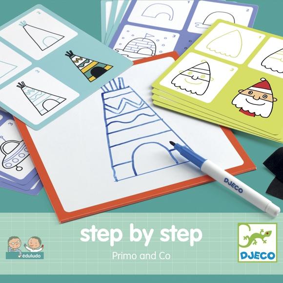 Rajzolás lépésről lépésre - Kezdés - Step by step Primo - 0