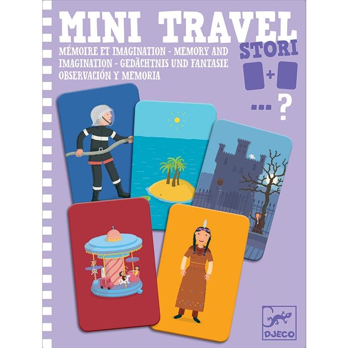 Mini utazó játék - Történetszövés-memória - Stori - 0