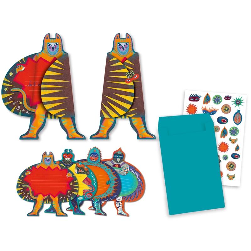 Parti játék - Meghívókártyák - Superheroes invitation cards - 0