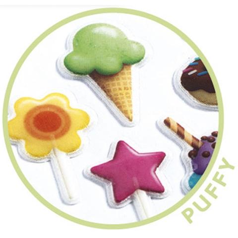 Mini matrica - Édesség - Sweet - 1