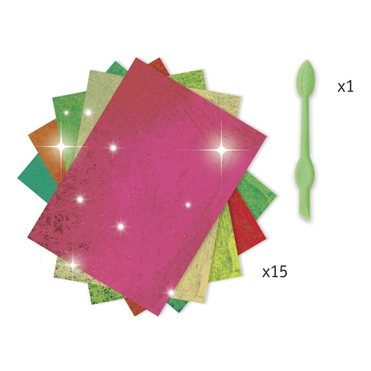 Fémfóliás színezés - Szentjánosbogarak - Fireflies - 2