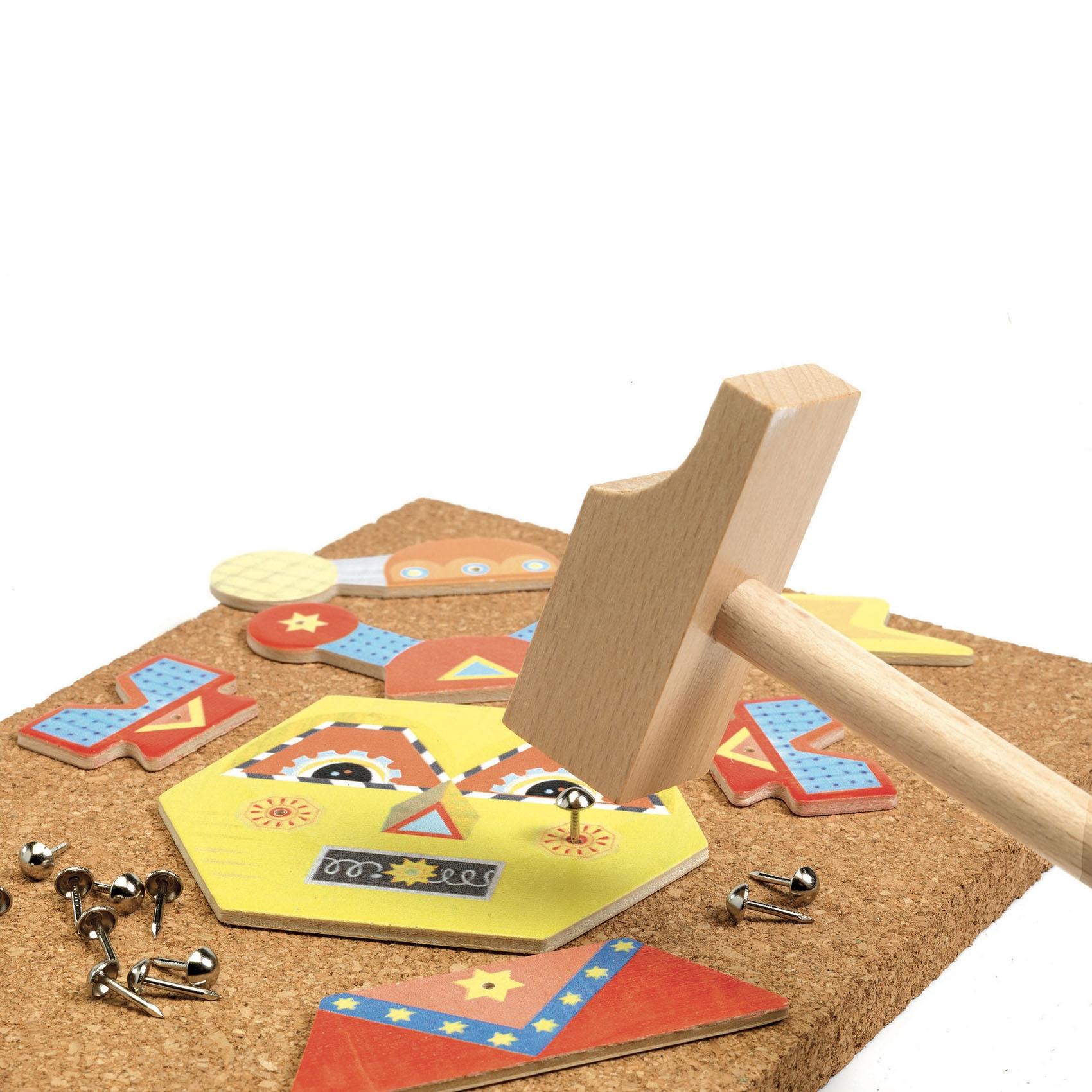 Kalapálós játék - Kip-kop robot - Tap tap Robots  - 2