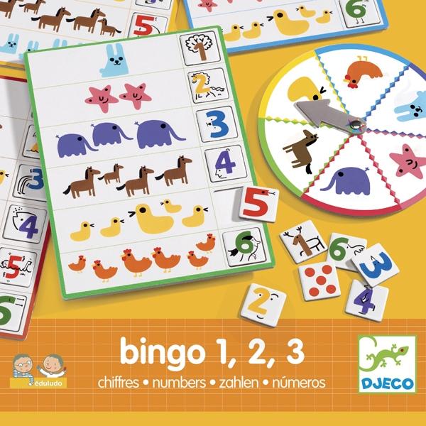 Társasjáték - Számok és mennyiségek, Bingó - Bingo numbers - 0