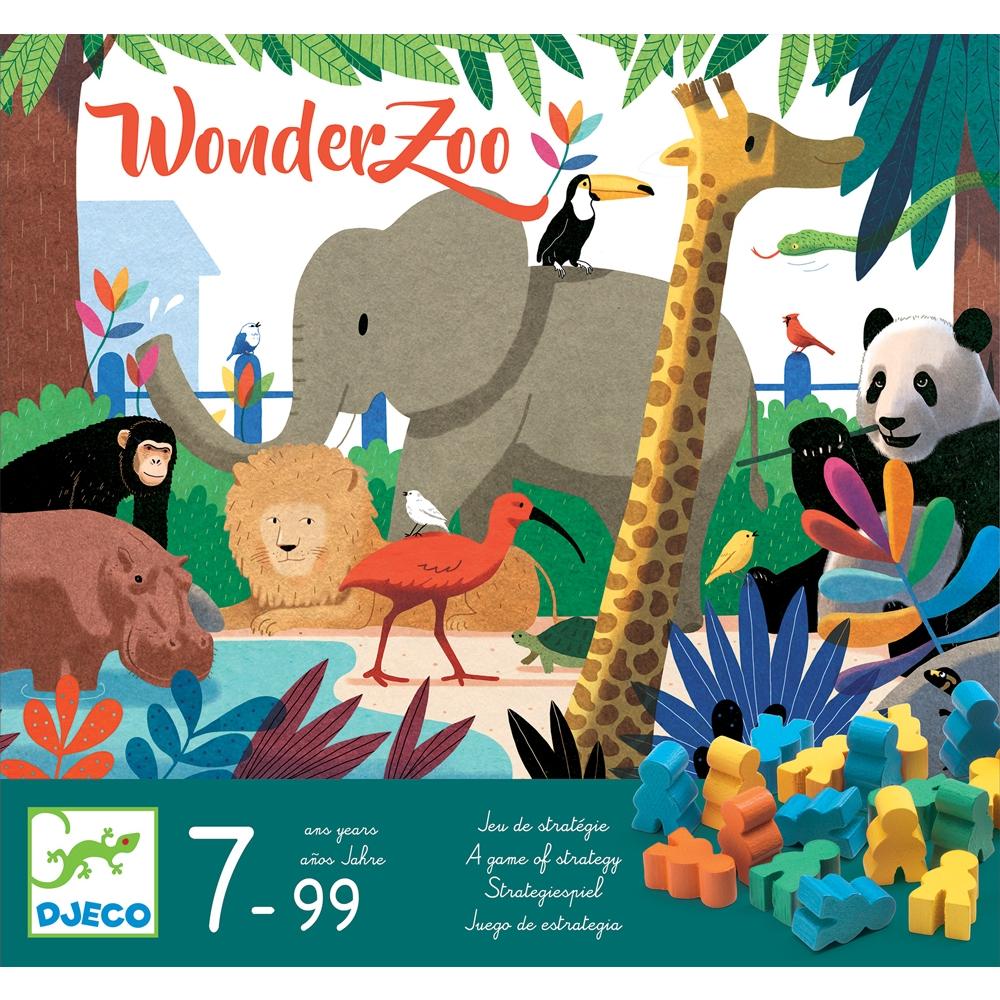 Társasjáték - Csodállatkert - WonderZoo - 0