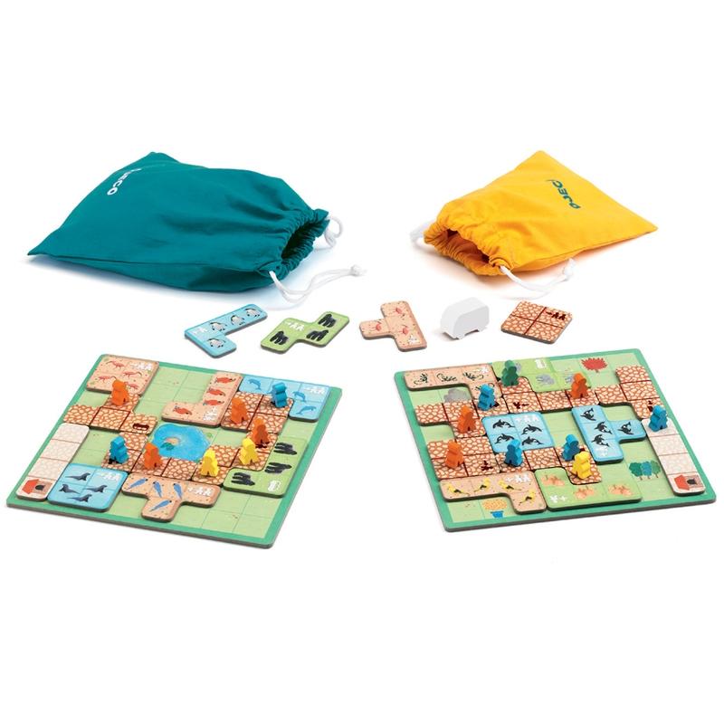 Társasjáték - Csodállatkert - WonderZoo - 1