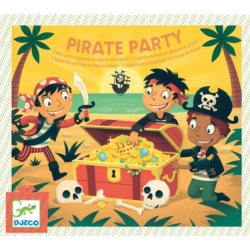 Társasjáték - Kalóz kaland - Pirate Party - 0