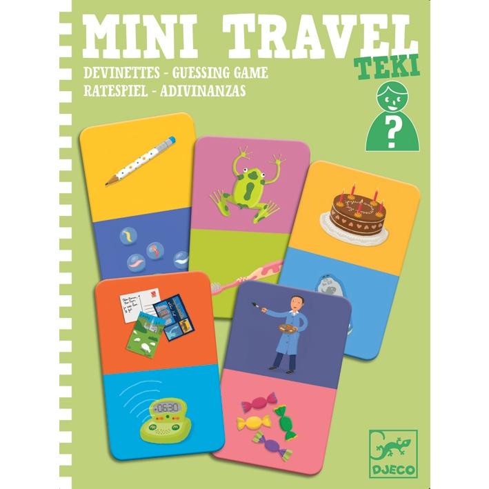 Mini utazó játék - Kérdezz-Felelek - Teki  - 0