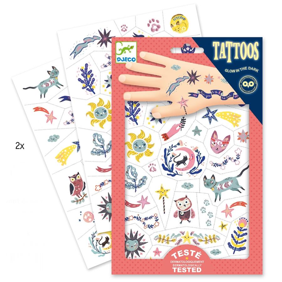 Tetováló matricák - Édes álom - Sweet dreams - 0