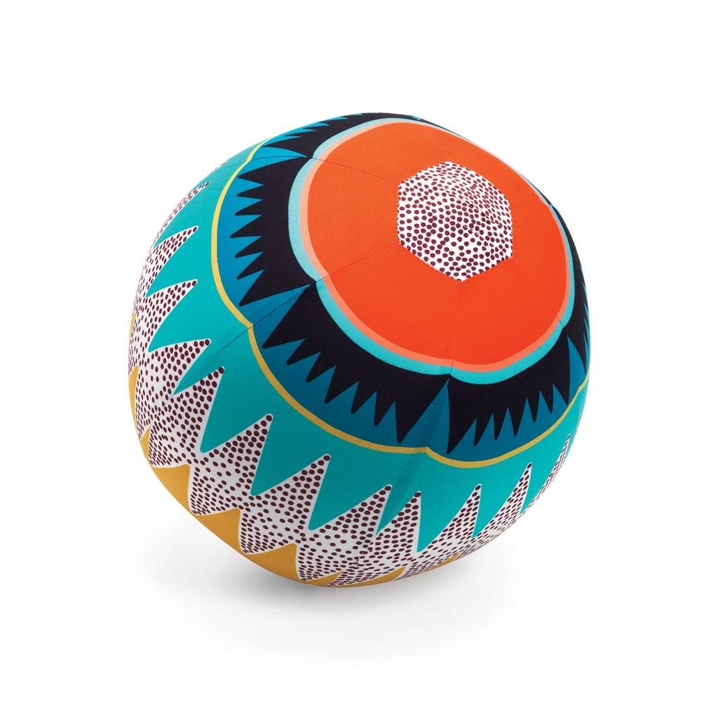 Textilhuzat lufira - Kockás labda -Graphic ball - 30 cm - 0