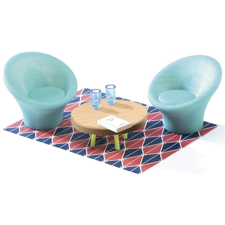 A kék nappali - The blue living room - 0