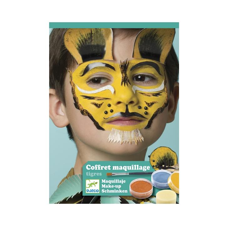 Arcfestés, díszítés - Állatmaszkok - Tigris és barátai - 0