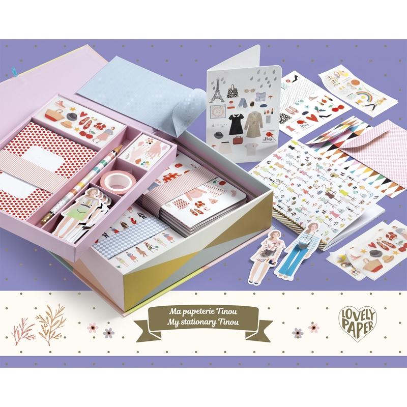 Irodaszer készlet - Tinou box set - 0