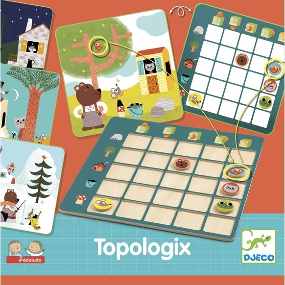 Fejlesztő játék - Viszonyító - Eduludo Topologix - 0