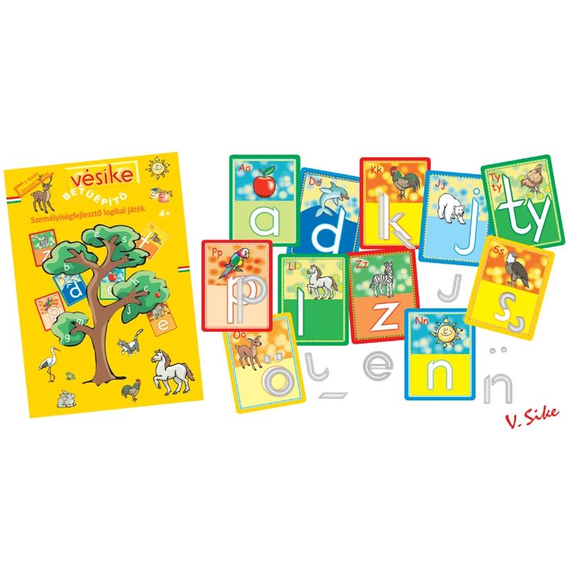 Vésike - Betűépítő Játék - Letter-building game - 0