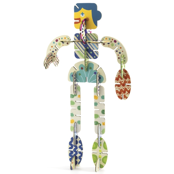 Építőjáték - Volubo figurák - Figurines - 4
