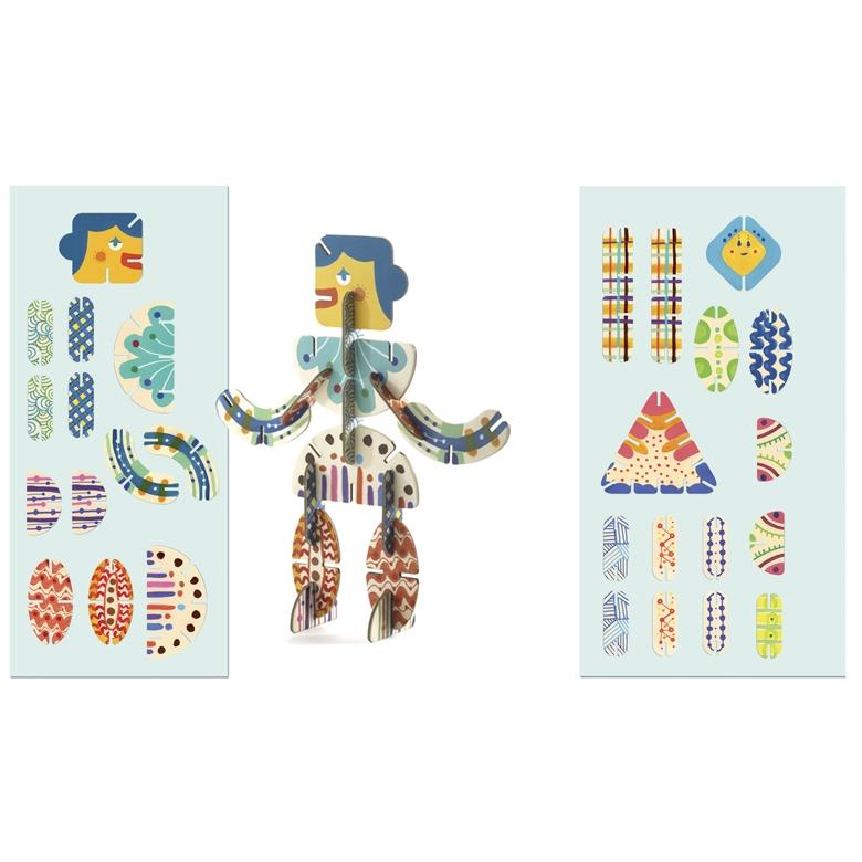 Építőjáték - Volubo figurák - Figurines - 7