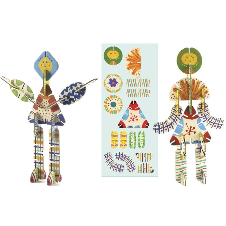 Építőjáték - Volubo figurák - Figurines - 8