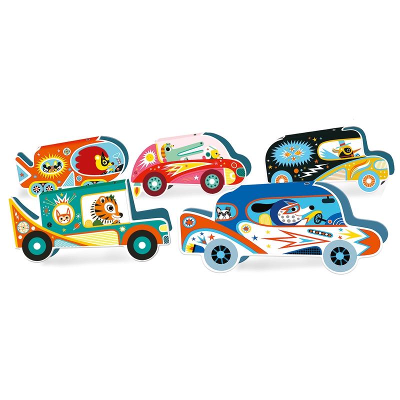 Társasjáték - Autóverseny - Vrooom - 1